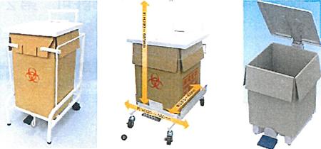 段ボール容器用スタンド